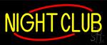 Yellow Night Club Neon Sign