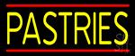 Yellow Pastries Neon Sign