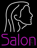 Salon Logo Neon Sign