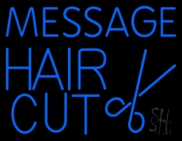 Custom Haircut Neon Sign