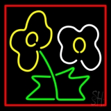 Flower Logo Neon Sign