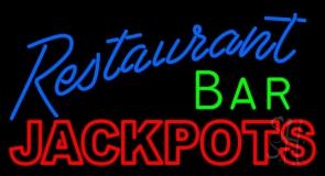Restaurant Bar Jackpots Neon Sign