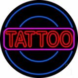 Round Tattoo Neon Sign