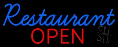 Restaurant Open Neon Sign