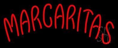 Red Margaritas Neon Sign