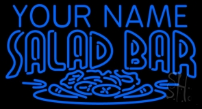 Custom Salad Bar Neon Sign
