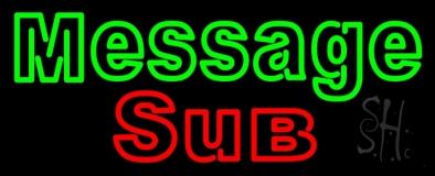 Custom Sub Neon Sign