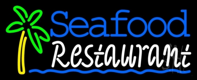 Seafood Restaurant Neon Sign