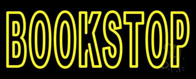 Book Stop Neon Sign