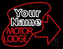 Custom Motor Lodge Neon Sign