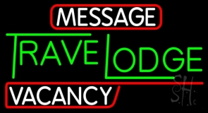 Custom Travelodge Vacancy Neon Sign