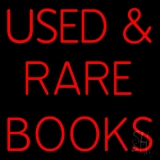 Used And Rare Books Neon Sign