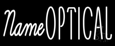 Custom Optical Neon Sign