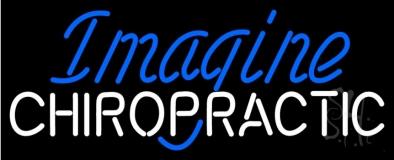 Imagine Chiropractic Neon Sign
