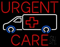 Urgent Care Hospital Van Neon Sign