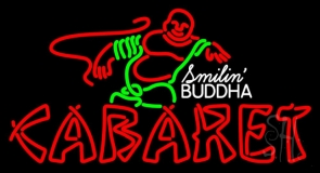 Double Stroke Cabaret Logo LED Neon Sign