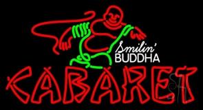 Double Stroke Cabaret Logo Neon Sign