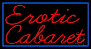 Erotic Cabaret LED Neon Sign