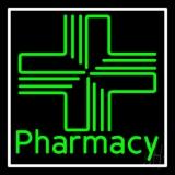 Pharmacy With Plus Logo Neon Sign