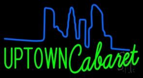 Uptown Cabaret Neon Sign