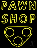 Double Stroke Pawn Shop Neon Sign