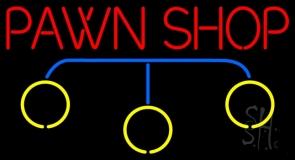Pawn Shop Logo Neon Sign