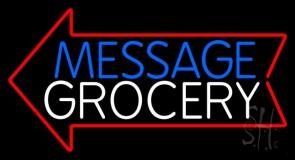 Custom Grocery Neon Sign