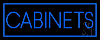 Blue Cabinets LED Neon Sign