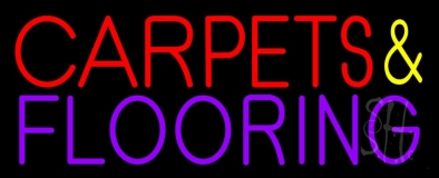 Carpets And Flooring LED Neon Sign