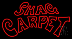 Shag Carpet LED Neon Sign