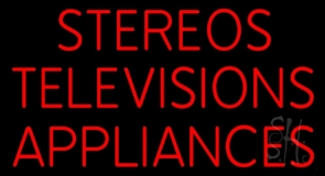 Stereos Televisions Appliances LED Neon Sign