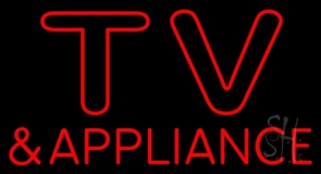 Tv And Appliance LED Neon Sign