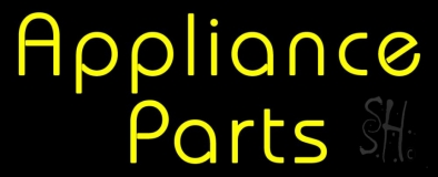Double Stroke Appliance Parts 1 LED Neon Sign