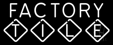 Factory Tile Neon Sign