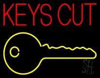 Keys Cut Neon Sign