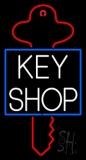 Key Shop Neon Sign