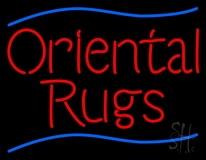 Oriental Rugs LED Neon Sign