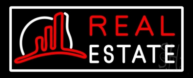 Real Estate With Logo 6 Neon Sign