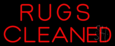 Rugs Cleaned LED Neon Sign