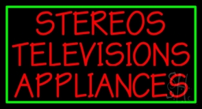 Stereos Televisions Appliances 1 LED Neon Sign