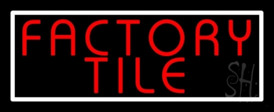 Factory Tile 1 Neon Sign