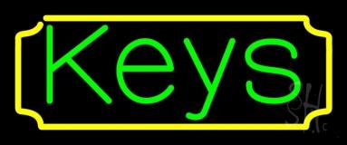 Keys 1 Neon Sign