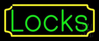 Locks 1 Neon Sign