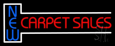 New Carpet Sale 2 LED Neon Sign