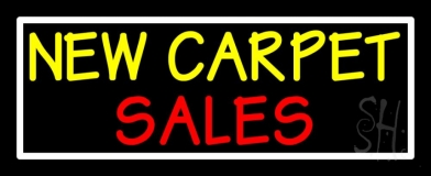 New Carpet Sale 3 LED Neon Sign