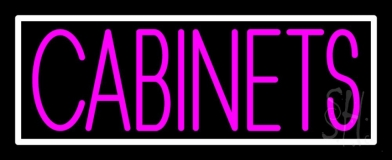 Pink Cabinets 1 Neon Sign