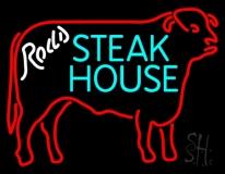Steakhouse Logo Neon Sign