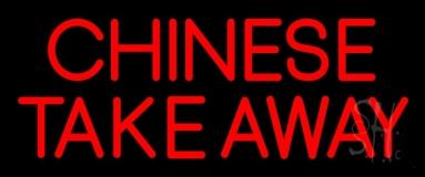 Chinese Take Away Neon Sign
