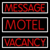 Custom Motel Neon Sign