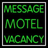 Custom Motel Neon Sign